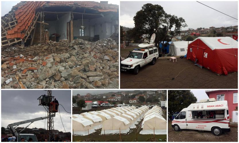 Ayvacık Depremi Acil Yardım ve Afet Yönetimi Çalışmalarının Değerlendirilmesi Raporu