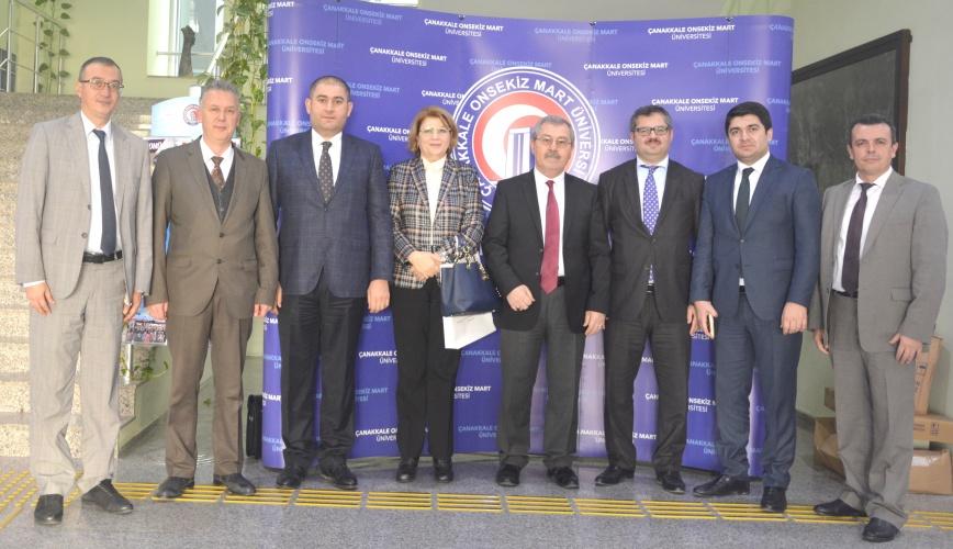 Azerbaycan Büyükelçisi'nden Rektör Yardımcısı Prof. Dr. Mirza Tokpunar'a Ziyaret