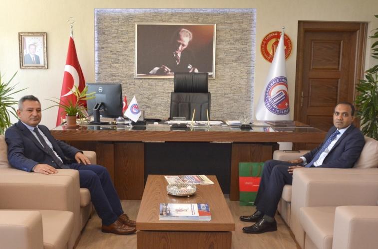 Bangladeş İstanbul Başkonsolosundan Rektör Prof. Dr. Yücel Acer'e Ziyaret