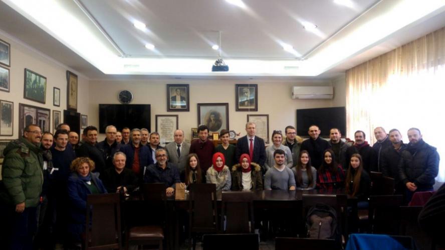 Batı Trakya Bölgesi'nde Yaşayan Türk Soydaşlarımıza Yönelik Eğitim Toplantısı Gerçekleştirildi