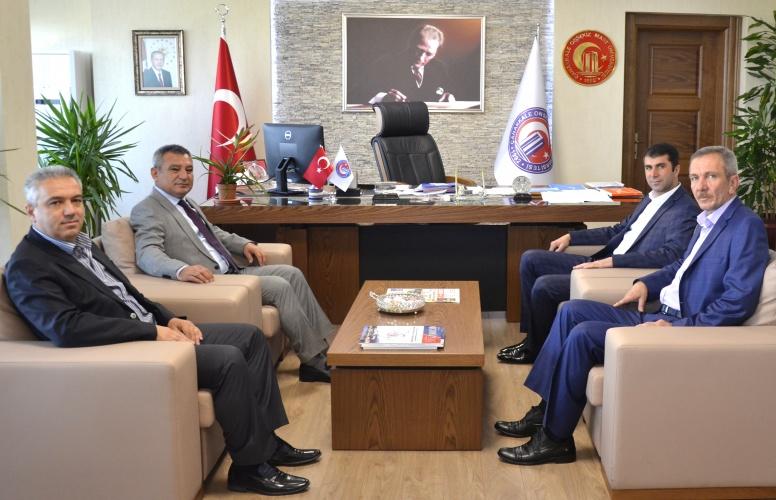 Bayramiç Belediye Başkanı Arslan'dan Rektör Acer'e Ziyaret