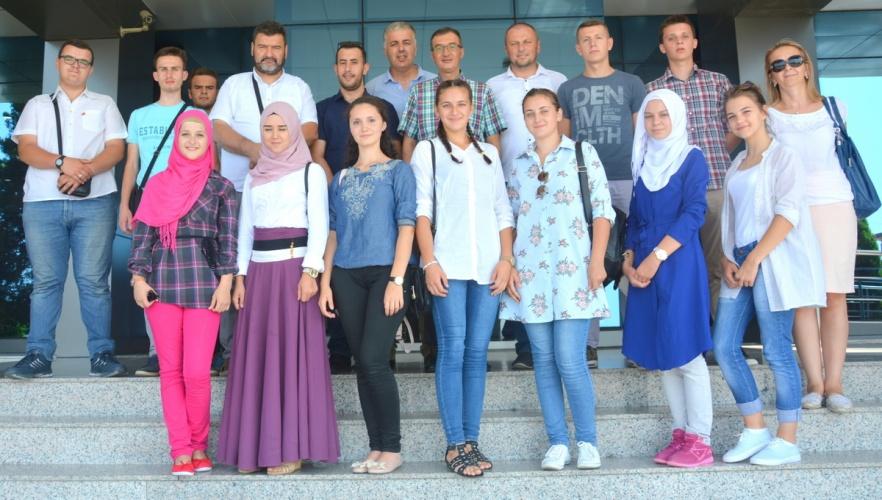 Bosna Hersekli Öğrencilerden ÇOMÜ'ye Ziyaret