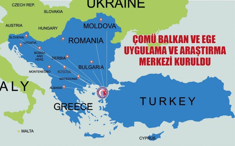 ÇOMÜ Balkan ve Ege Uygulama ve Araştırma Merkezi Kuruldu
