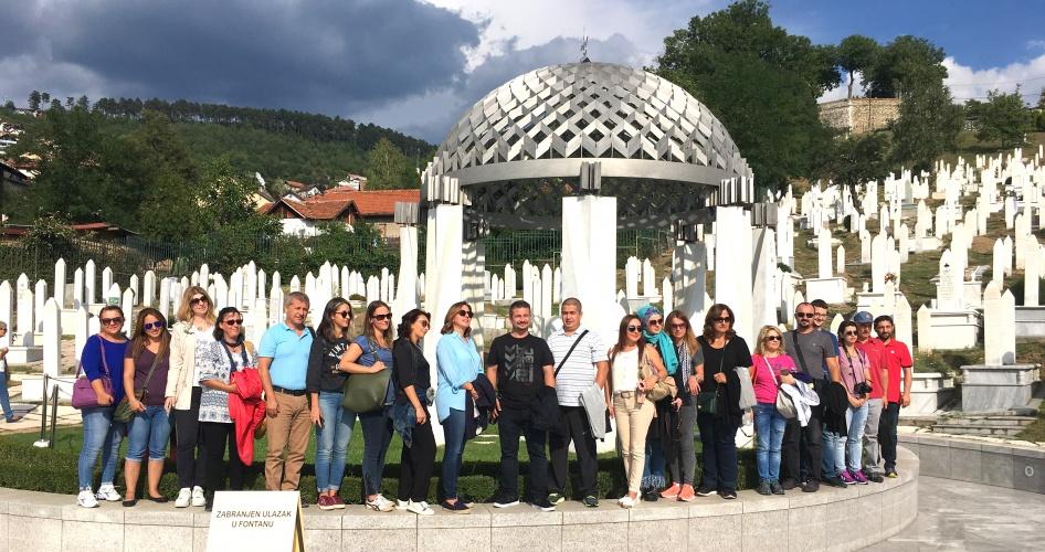 ÇOMÜ'nün 25. Yıl Etkinlikleri Kapsamında Bosna Hersek'te Peyzaj Kongresi Düzenlendi