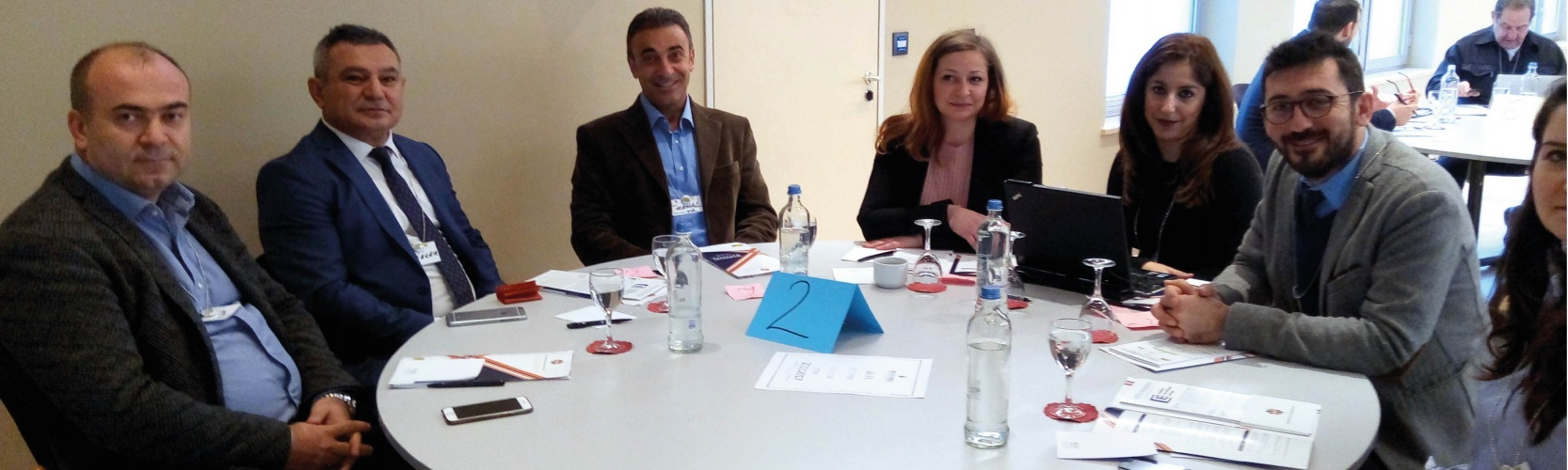 ÇOMÜ  Avrupa Birliği Proje Rekortmenleri Toplantısında