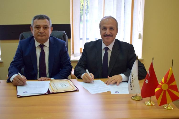ÇOMÜ, Balkan Üniversiteleriyle İş Birliklerini Geliştirmeye Devam Ediyor
