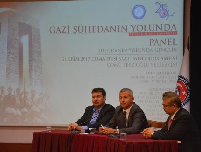 ÇOMÜ – Gazi Üniversitesi İşbirliğiyle Panel Düzenlendi