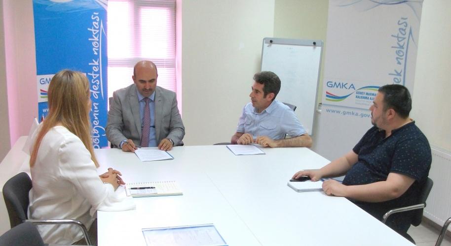 ÇOMÜ - GMKA İş Birliğinde İki Proje İmzalandı