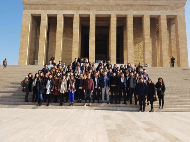 ÇOMÜ'lü Öğrencilerden Ankara Ziyareti