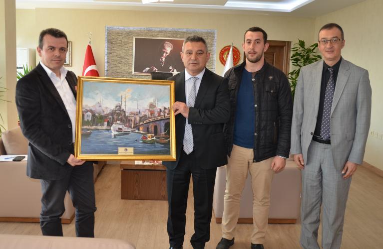 ÇOMÜ'nün Balkan Kökenli Öğrencileri Ankara'da Kampa Katıldı