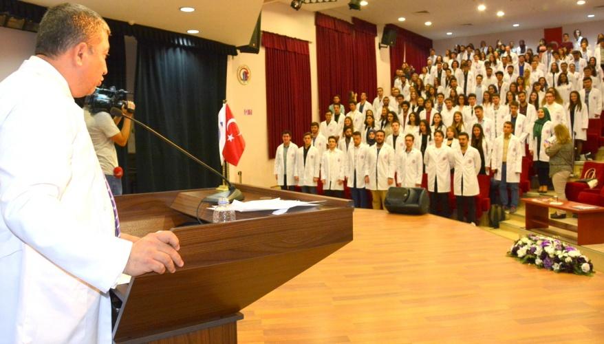 ÇOMÜ Tıp Fakültesi 10. Önlük Giyme Töreni Gerçekleştirildi
