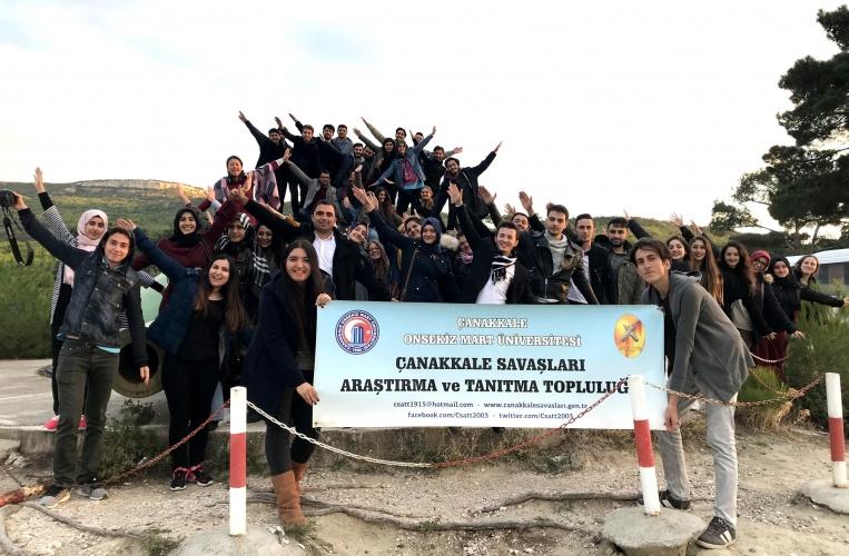 ÇSATT Anadolu Yakası Şehitliklerini Ziyaret Etti