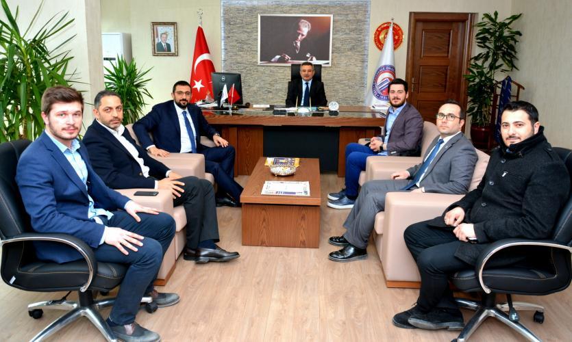 Cumhurbaşkanı Baş Danışmanından Rektör Acer'e Ziyaret