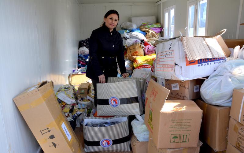 Deprem Bölgesine Bir Yardım da ÇOMÜ Butikten