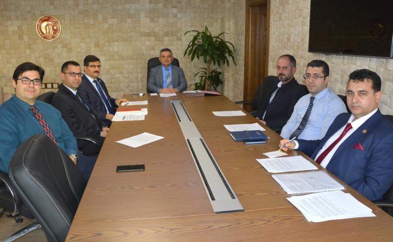 Diş Hekimliği Fakültesi İlk Yönetim Kurulu Toplantısı Gerçekleştirildi