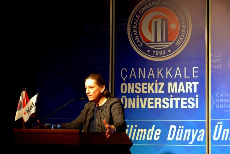 Dr. Zeynep Bodur Okyay ÇOMÜ'lülerle Buluştu