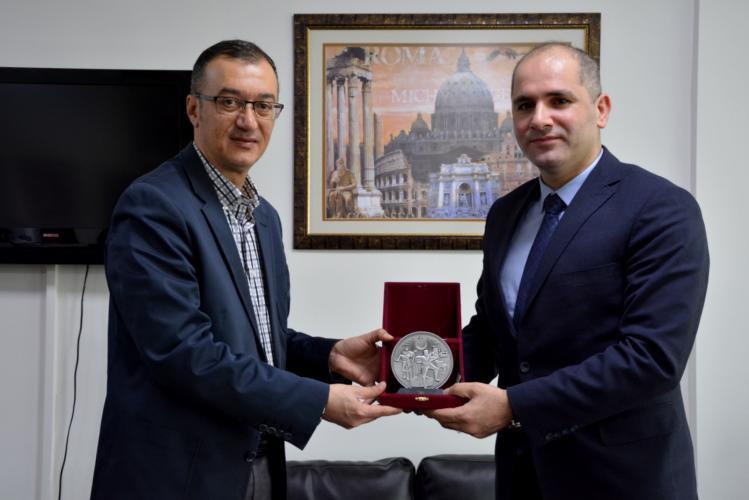 Eceabat Kaymakamı Turan Yılmaz'dan Rektör Yardımcısı Prof. Dr. Özden'e Ziyaret