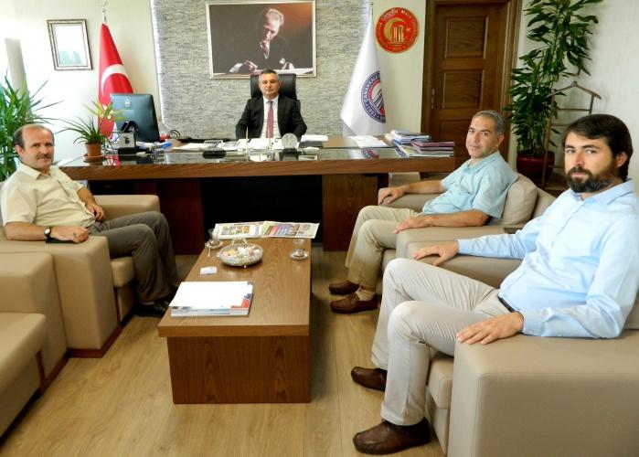 Eğitim Bir Sen'den Rektör Prof. Dr. Yücel Acer'e Ziyaret