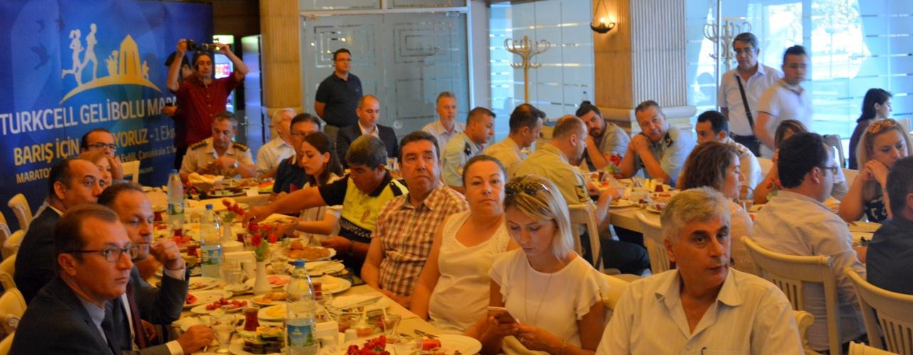 Gelibolu Maratonu Koordinasyon Toplantısı Gerçekleştirildi