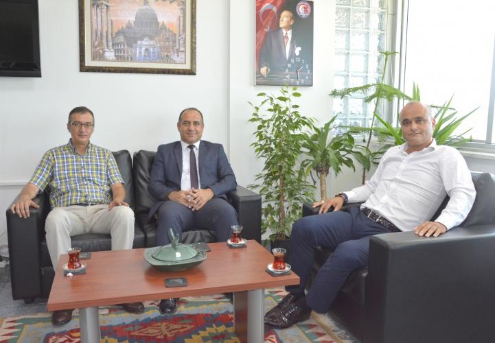 Gençlik Hizmetleri ve Spor İl Müdüründen Rektör Yardımcısı Prof. Dr. Süha Özden'e Ziyaret