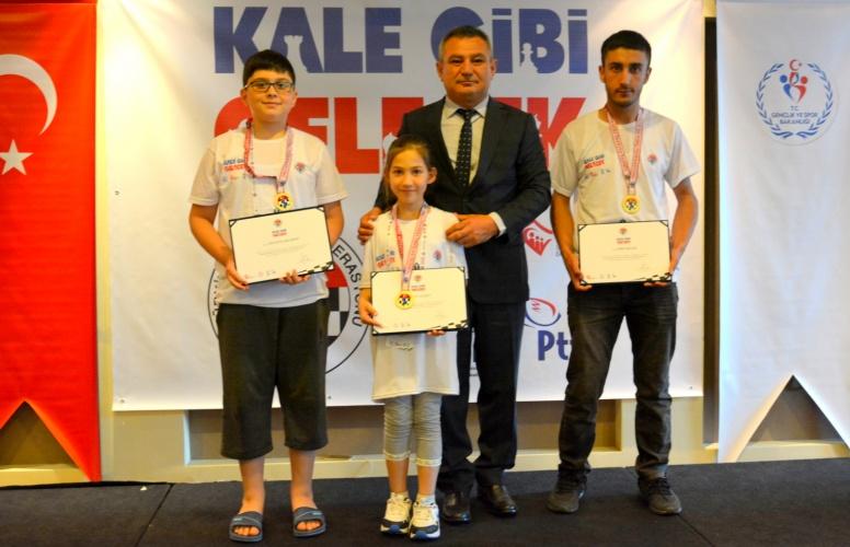Kale Gibi Gelecek Satranç Eğitim Projesi'nin İlk Etabı Tamamlandı