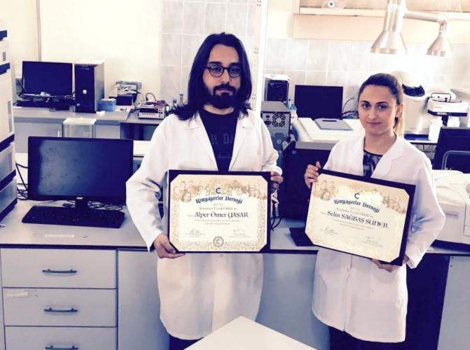 Kimyagerler Derneği Araştırma Teşvik Ödülü ÇOMÜ'nün