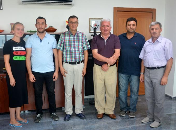 Kosova'dan ÇOMÜ'ye Ziyaret