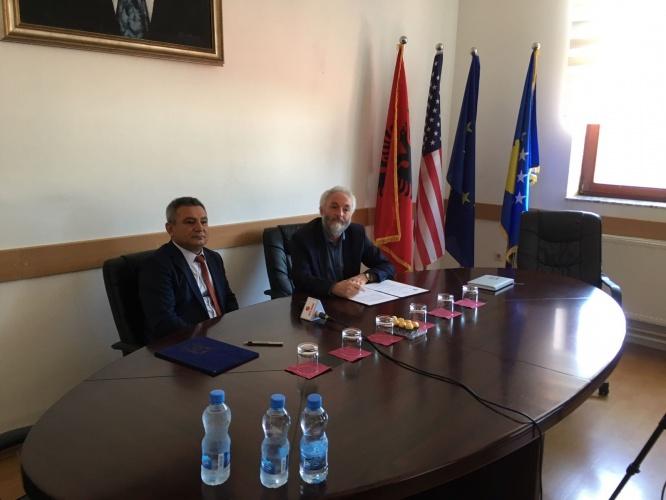 Kosova Üniversiteleriyle Ortak Yüksek Lisans Programları Anlaşması İmzalandı