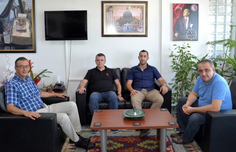 Makedonya Milletvekilinden Rektör Yardımcısı Prof. Dr. Süha Özden'e Ziyaret
