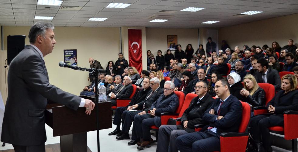 Merhum Prof. Dr. Eyüp Özdemir Düzenlenen Törenle Anıldı