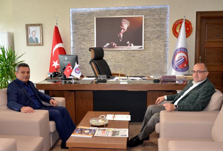 Milletvekili Ayhan Gider'den Rektör Acer'e Ziyaret