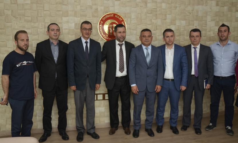 Preşeva Kültür Derneği'nden ÇOMÜ'ye Anlamlı Ziyaret