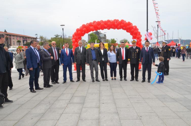 Rektör Prof. Dr. Yücel Acer, 23 Nisan Ulusal Egemenlik ve Çocuk Bayramı Etkinliklerine Katıldı