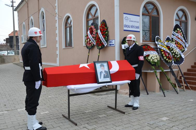 Rektör Prof. Dr. Yücel Acer, Kore Gazisinin Cenaze Törenine Katıldı