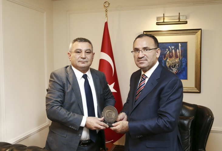 Rektör Acer'den Başbakan Yardımcısı Bekir Bozdağ'a Ziyaret
