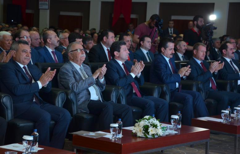 Tarım Bakanı Faruk Çelik, Ulusal Peynir Çalıştayı Açılışına Katıldı