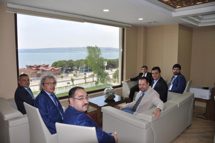 TEKNOPARK Yönetim Kurulu'ndan İl Özel İdare Genel Sekreteri Köklü'ye Ziyaret