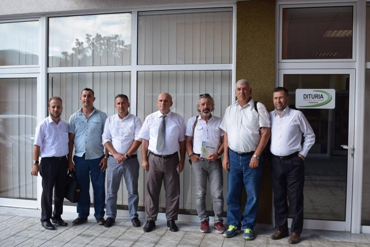 TÜDAM Sırbistan ve Makedonya'da Çeşitli Temaslarda Bulundu