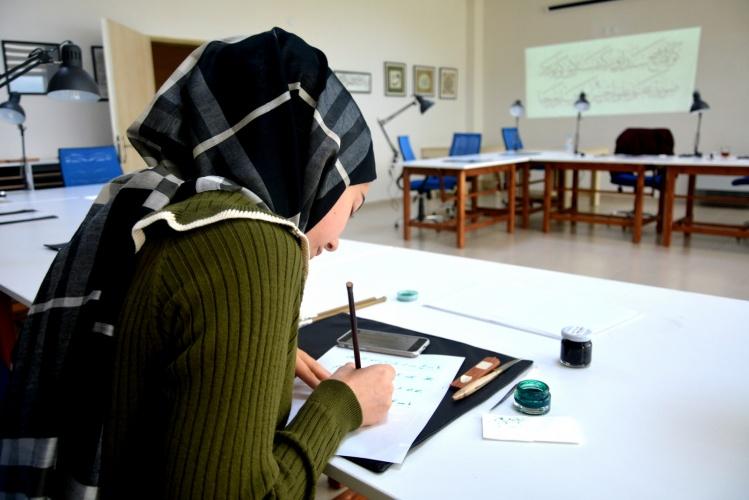 Türkiye'de İlk: ÇOMÜ Hat ve Tezhip Atölyesi Açıldı
