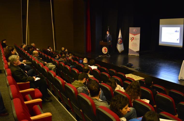 Türk Patent ve Marka Kurumu Uzmanı Damgacıoğlu, ÇOMÜ Öğretim Üyeleriyle Bir Araya Geldi