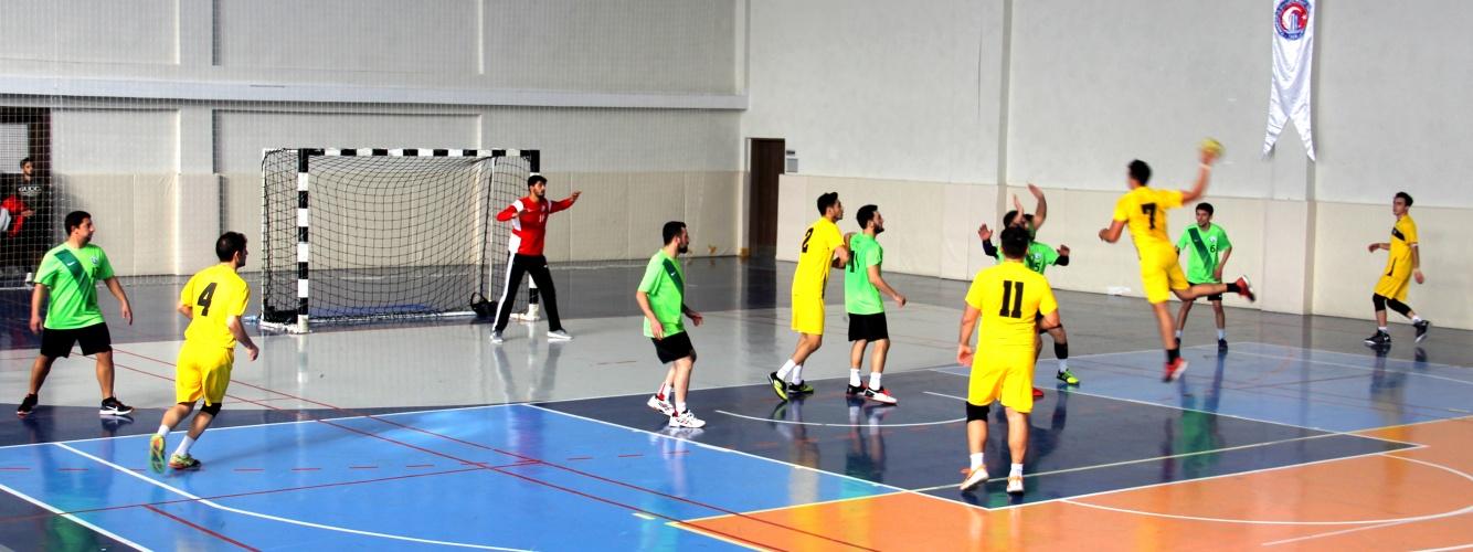 TÜSF Hentbol 2. Lig Grup Birinciliği Müsabakaları Üniversitemizde Gerçekleştirildi