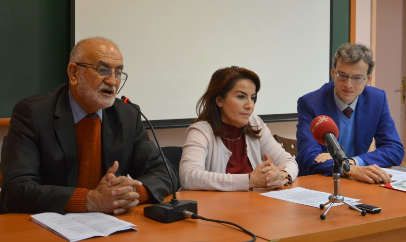 Ukrayna Bilimler Akademisi'nden Prof. Dr. Mehmet İsmail'e Fahri Doktora