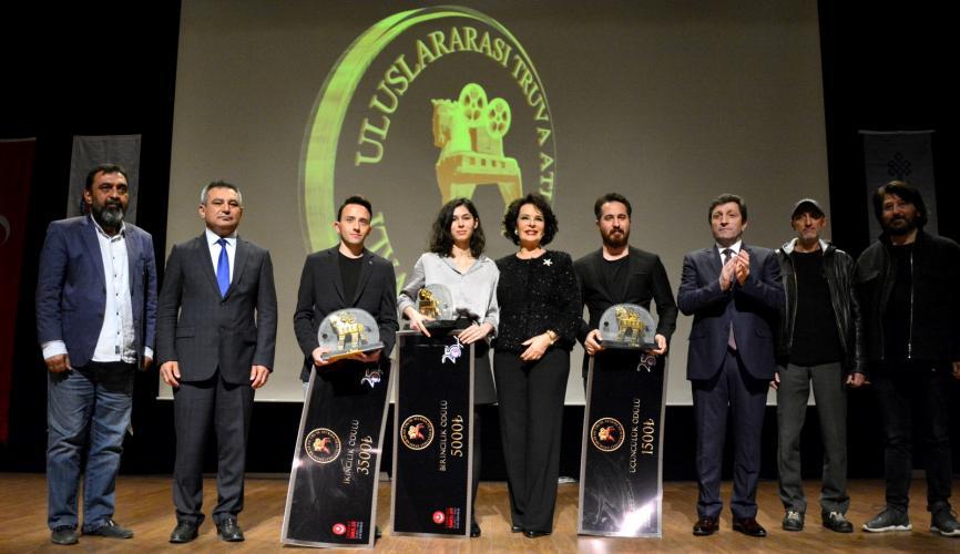 Uluslararası Truva Atı Film Festivali'nin Gala Gecesi Gerçekleştirildi