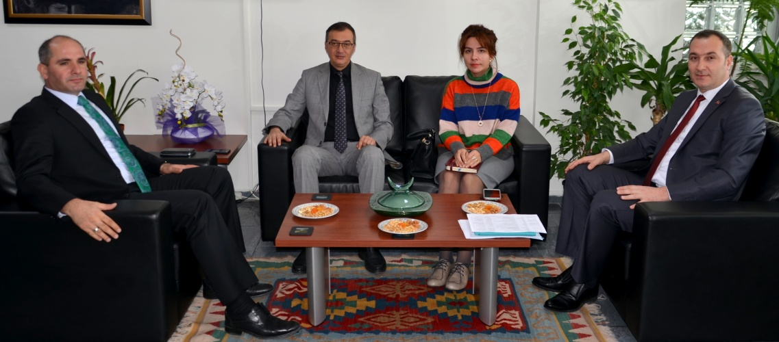 Vali Yardımcısı Yılmaz'dan, Rektör Yardımcısı Prof. Dr. Özden'e Ziyaret