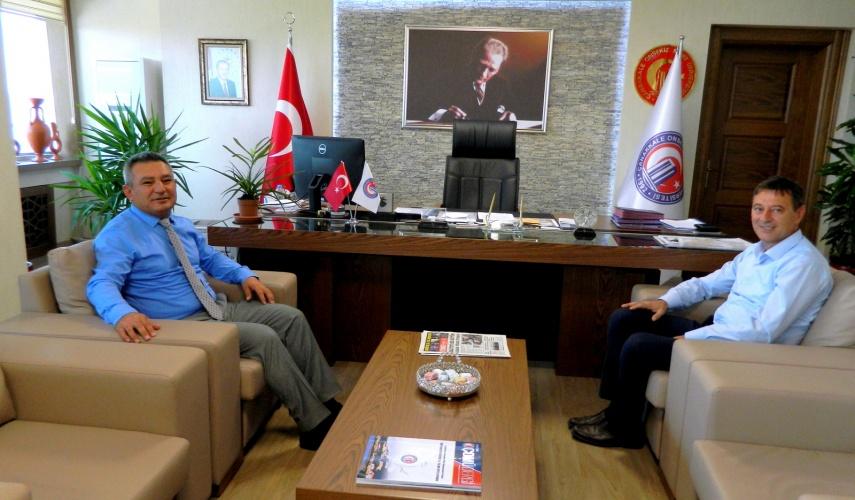 Yenice Belediye Başkanı Acar'dan Rektör Acer'e Ziyaret