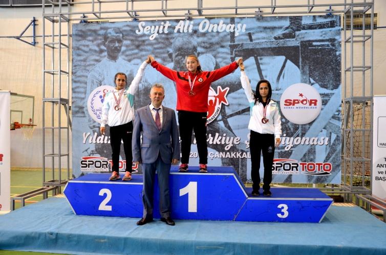 Yıldızlar Türkiye Halter Şampiyonası ÇOMÜ'de Gerçekleşti