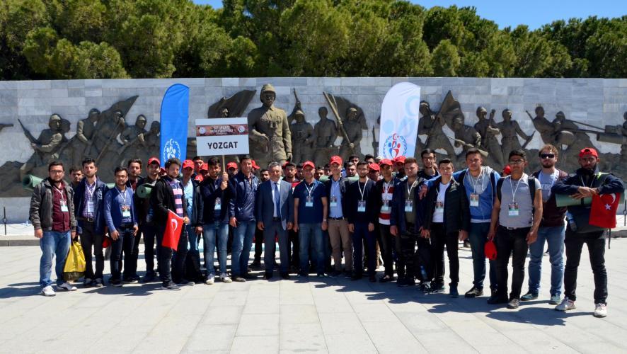 Yozgat'tan Gelen Üniversite Öğrencileri Rektör Prof. Dr. Yücel Acer'le Buluştu