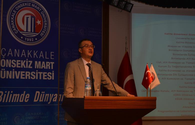 Yüksek Öğretim Kalite Güvencesi 3.Toplantısı Gerçekleştirildi