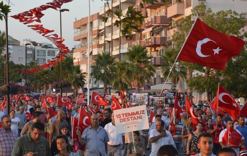 15 Temmuz Milli Birlik ve Demokrasi Günü Anma Töreni Gerçekleştirildi