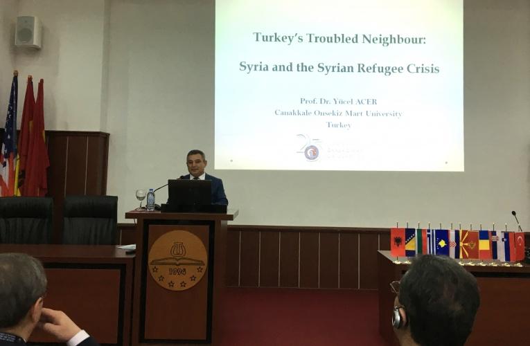 4. Balkan Üniversiteler Birliği Toplantısı Tetova'da Yapıldı